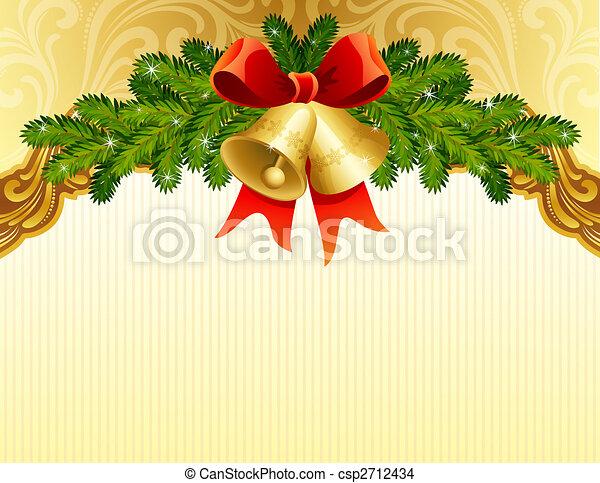 christmas background - csp2712434