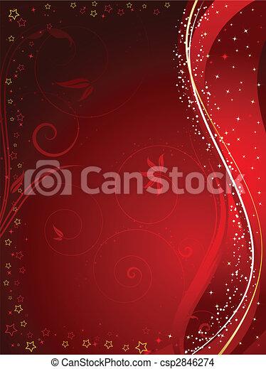 christmas background - csp2846274