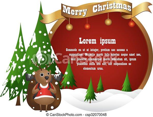 christmas background - csp32070048