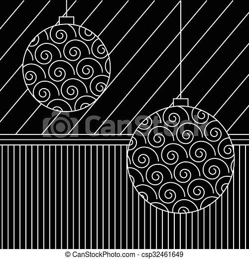 Christmas background - csp32461649
