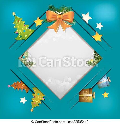 Christmas background - csp32535440