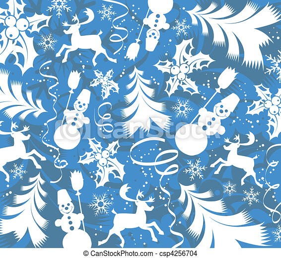 Christmas background - csp4256704