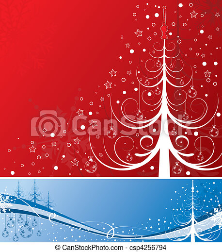 Christmas background - csp4256794