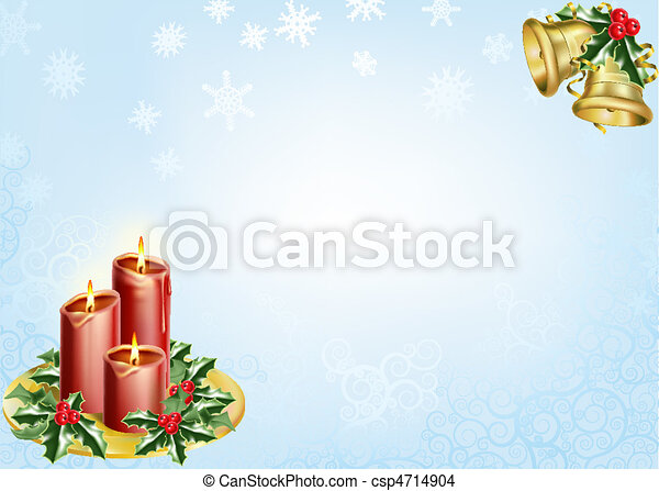 christmas background - csp4714904
