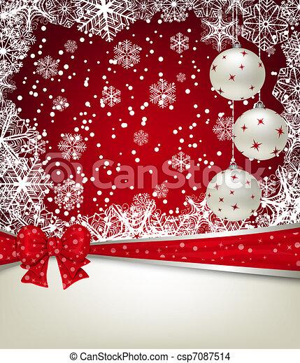 Christmas background - csp7087514