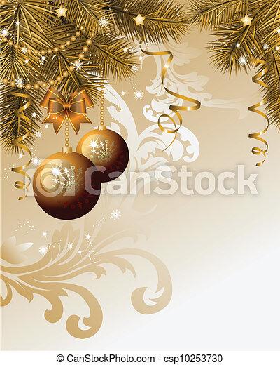 Christmas background - csp10253730