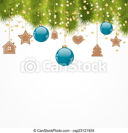 Christmas background - csp23121934