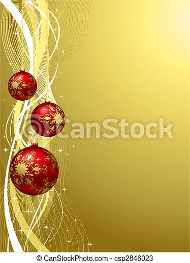 christmas background - csp2846023