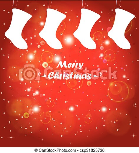 Christmas background - csp31825738