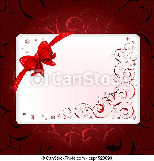 Christmas background - csp4523093