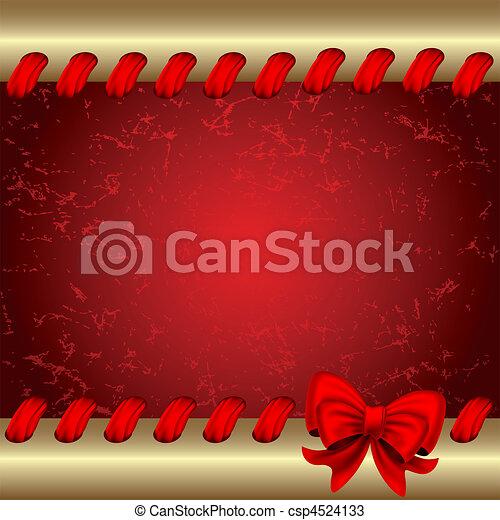 Christmas background - csp4524133