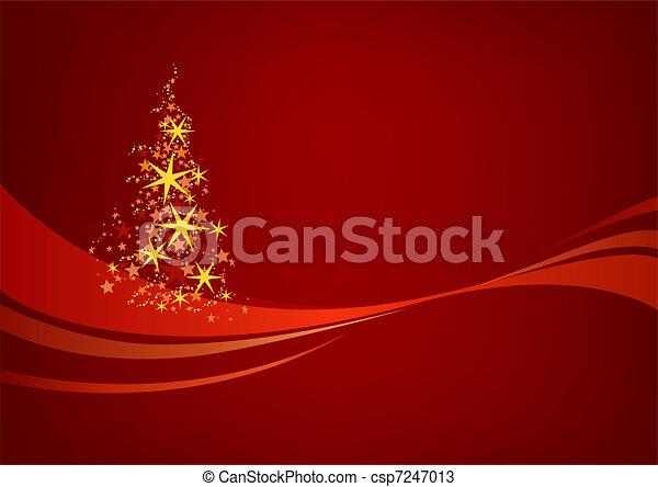 Christmas Background - csp7247013