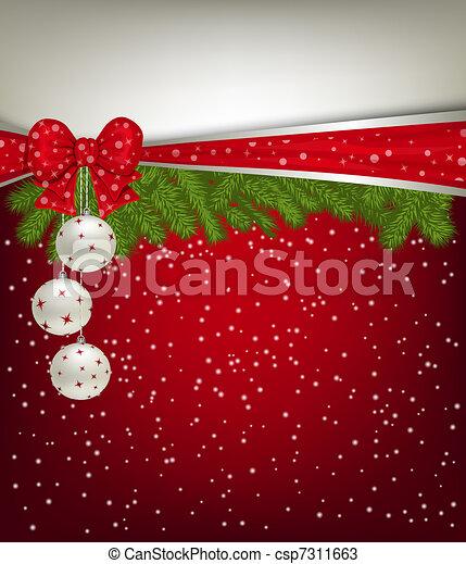Christmas background - csp7311663