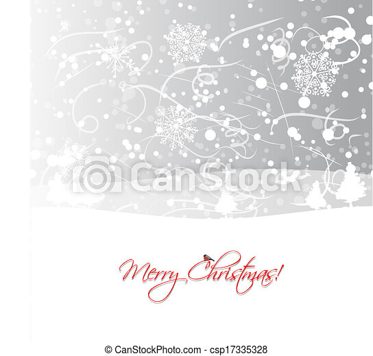 Christmas background for your design - csp17335328