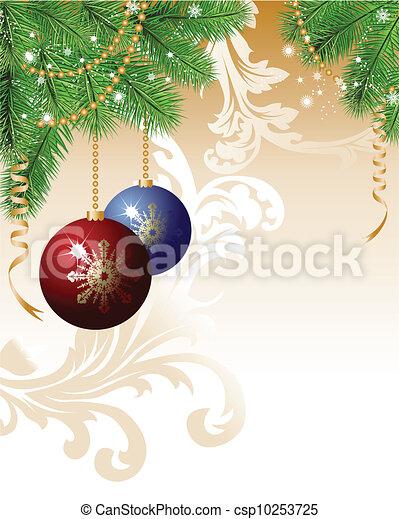 Christmas background - csp10253725