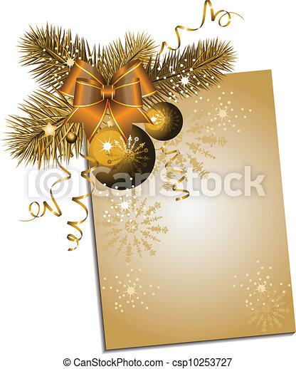 Christmas background - csp10253727