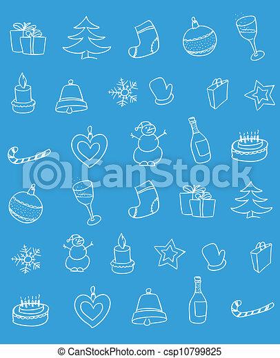 Christmas background - csp10799825
