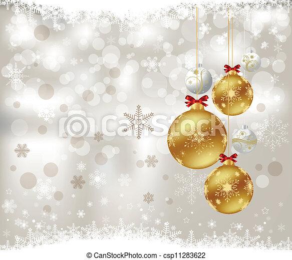 Christmas background - csp11283622