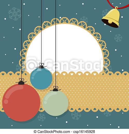 christmas background - csp16145928