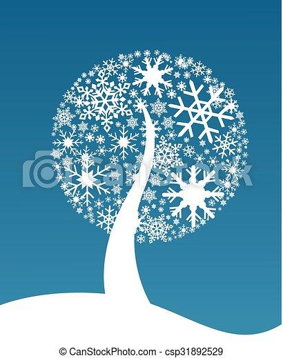 Christmas background  - csp31892529