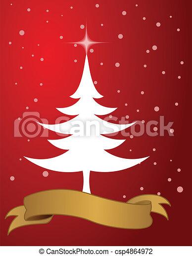 christmas background  - csp4864972