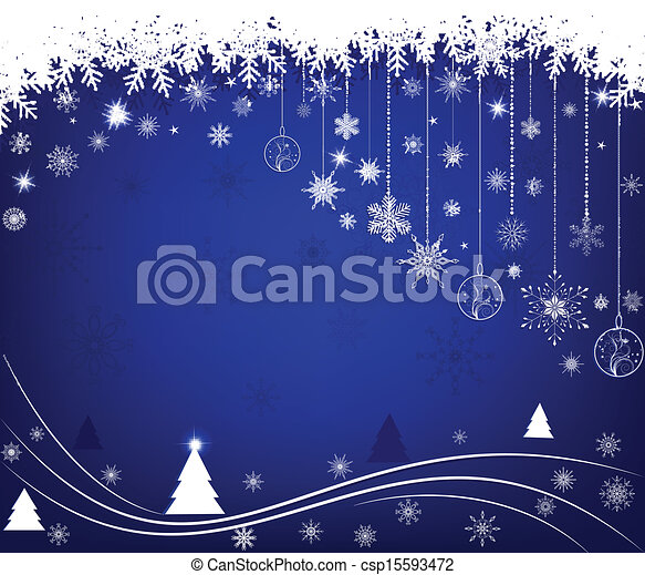 Christmas background - csp15593472