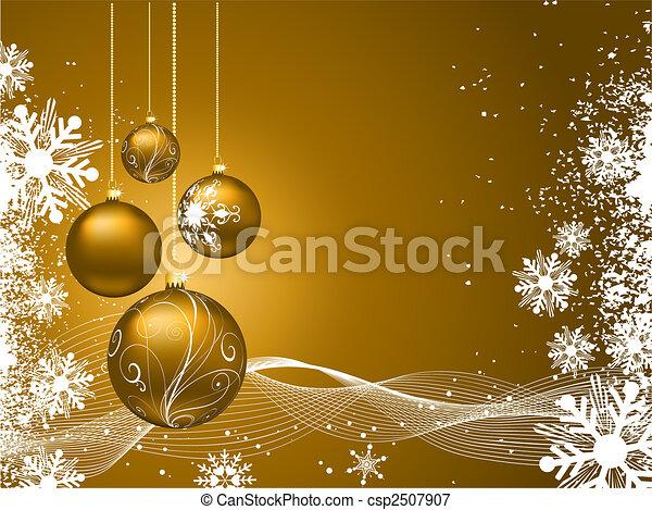 Christmas background - csp2507907