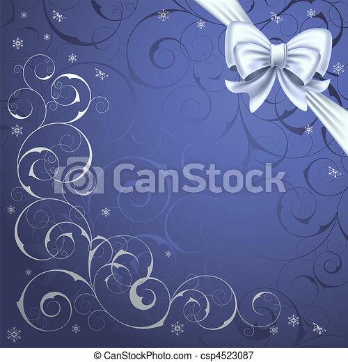 Christmas background - csp4523087