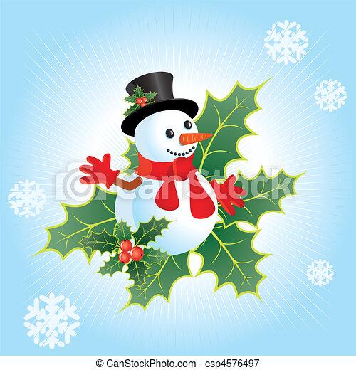 Christmas background - csp4576497