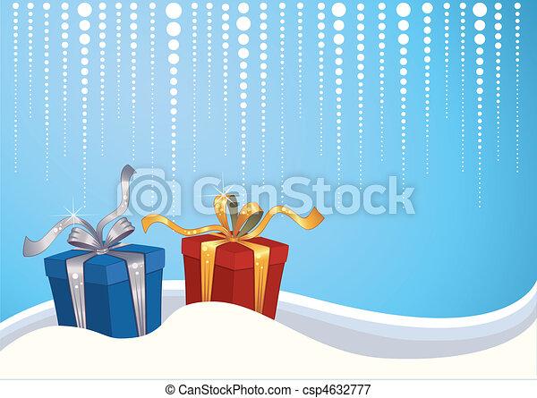 Christmas background - csp4632777