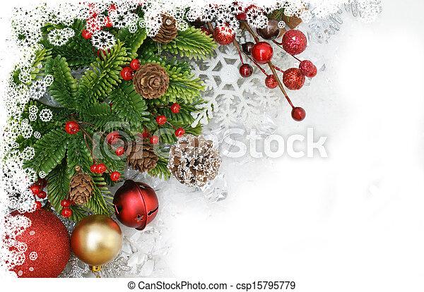 Christmas background - csp15795779