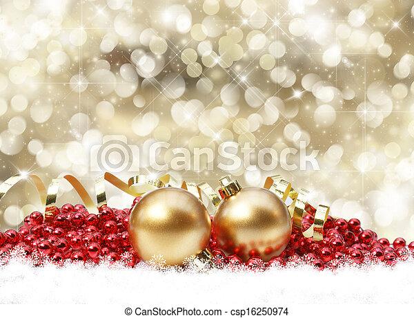 Christmas background - csp16250974
