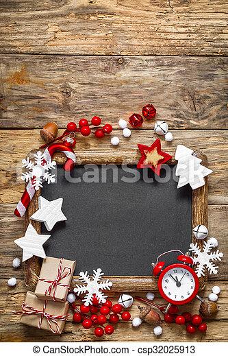 christmas background - csp32025913