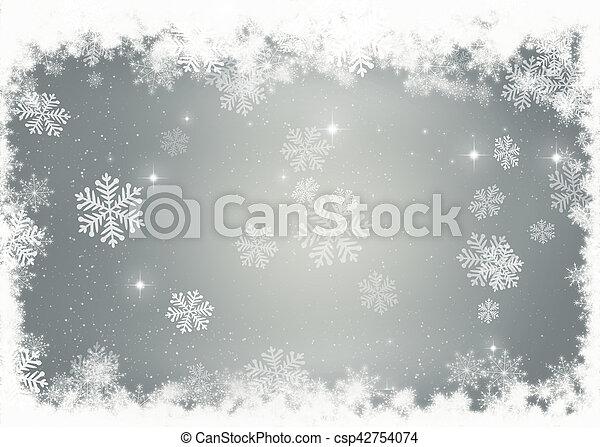 Christmas background - csp42754074