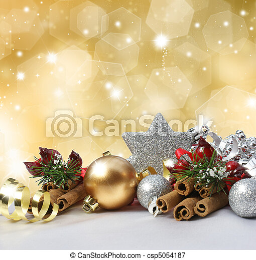 Christmas background - csp5054187