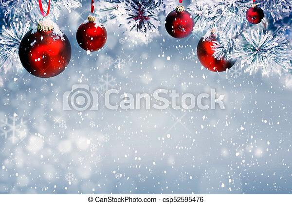 Christmas background - csp52595476
