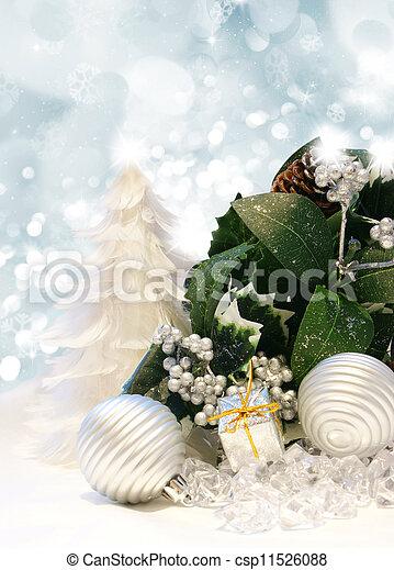 Christmas background - csp11526088