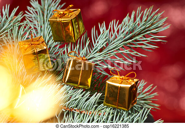 Christmas background - csp16221385