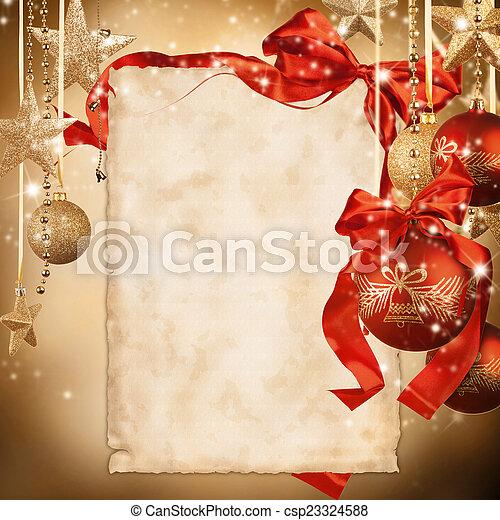 Christmas background - csp23324588