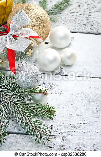 Christmas background - csp32538286