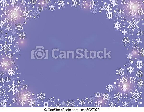 Christmas background purple - csp5027973