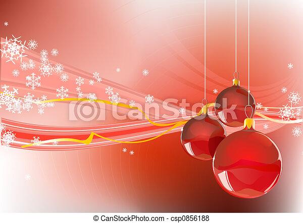 Christmas background - csp0856188