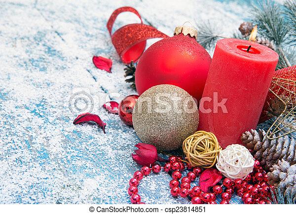 Christmas background - csp23814851