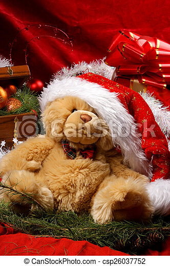 Christmas background - csp26037752