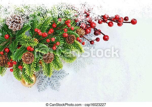 Christmas background - csp16023227