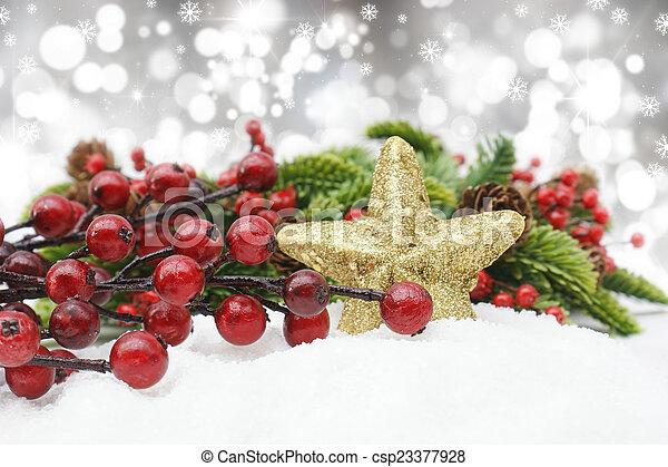 Christmas background - csp23377928