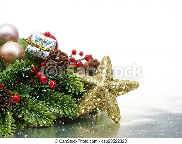 Christmas background - csp23522328