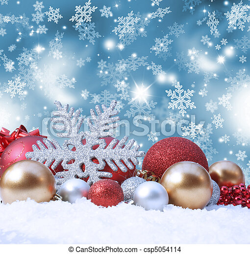 Christmas background - csp5054114
