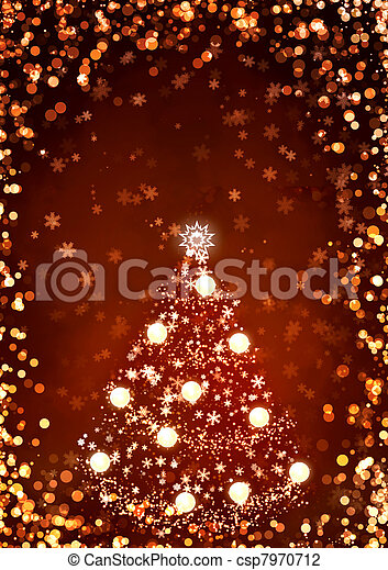 Christmas Background Vertical Of Red Color With Stock