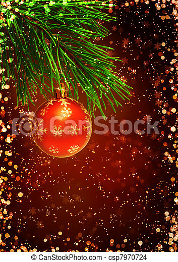 Christmas Background Vertical With Stock
